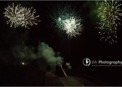 Piper's Heath Wedding Fireworks Display