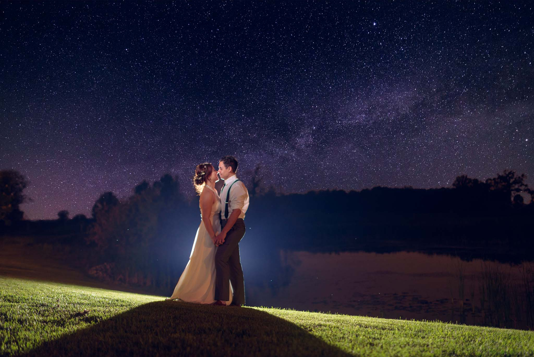 Piper's Heath Golf Club Wedding Starry Night